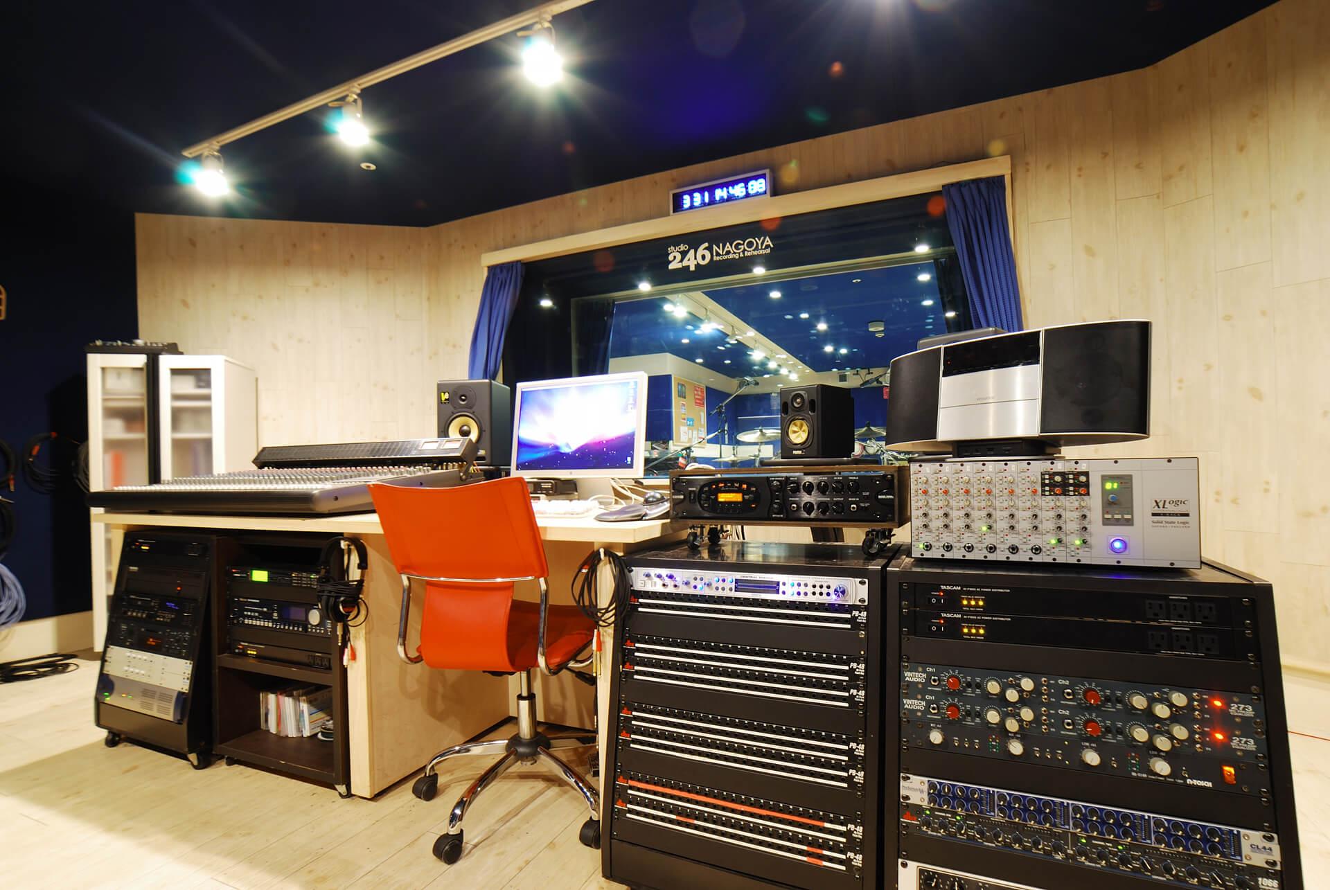 大阪・神戸・京都・名古屋のレコーディングスタジオならスタジオ246